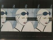 Patrick Nagel Swimmers 1979 Limited Edition