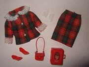Super Rare Japanese Exclusive Vintage Barbie 1960and039s Lovely Outfit