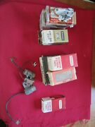 Vintage 50-60's Gm And Other Points,condensors And Rotors For Chevorlet Cars