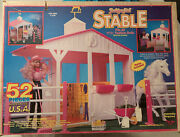 Vintage Fashion Girl Stable Playset Tim Mee Toys Barbie Knockoff