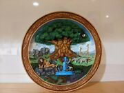Disneyand039s Lion King Animal Kingdom 3d Molded Collectible Plateandnbsp