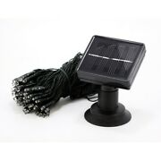 100 Led Solar Powered Christmas Lights 30ft. Red Eco-friendly
