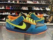 Nike Sb Dunk Low Authentic Skate Or Die 2007 Rare Retro Used Vtg Size 11.5