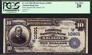 10 1902 The Citizens National Bank Of Akron, Colorado Ch 10901 Pcgs 20