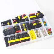 216 Pcs Waterproof Automotive Wire Connector Plug 1-6 P With Electric Sets