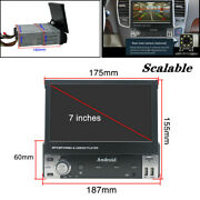 7 Inch 1din Android 9.1 Hd Lcd Flip Up Gps Navigation Car Stereo Player Radio