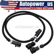 24 Oxygen O2 Sensor Header Extension Wire Harness For 1987-2009 Ford Mustang 2x