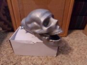 M/cycle Or Car Exhaust Cast Aluminum Skull