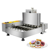 Ald-06 Mini Donut Maker Commercial | Automatic Doughnut Frying Machine | 4 Rows