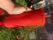 Starbucks Matte Red Studded Venti Cold Cup Holiday 2020