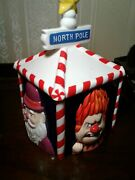 Vintage In Box Year Without Santa Claus Miser Brothers Neca Christmas Cookie Jar