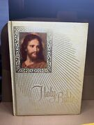 1971-72 Holy Bible Fireside Family Edition Nab New American Bible Catholic Dq