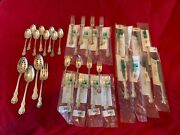 Towle Old Master 36 Piece Set - 4 Pc Place Settings For 8 With 4 Serving Pieces