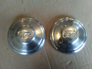 33 34 1933 1934 Ford Model Bb Truck Front Wheel Center Caps Grease Covers 32 35