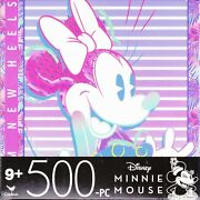 Jigsaw Puzzle Disney Characters Minnie Mouse 500 Pc 14x11 Cardinal S13