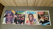 Lot Of 36 Vintage Mike Tyson Magazines Amazing Condition 27x On The Cover