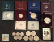 Starter Set, 15 Antique Gold And Silver Bullion Coins U.s. And Imperial Russian