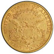 1878-s20 Liberty Gold Double Eagle Xf Detail Genuine Scratch Pcgs Cert40790548