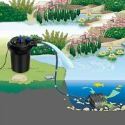 4000gal Pond Pressure Bio Filter With Light - New Cy