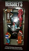 Hershey's Licensed Product 5 Piece Christmas Ornament Set 2013