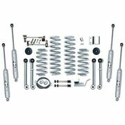 Rubicon Express For 93-98 Cherokee Super-flex Front And Rear Suspension Re8003t