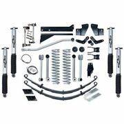 Rubicon Express For 84-01 Cherokee Super-flex Standard Front And Rear Suspension