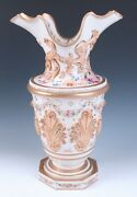 Huge C.1839 G.r Booth Staffordshire 18 Earthenware Vase Antique English Pottery