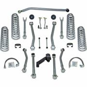 Rubicon Express For 07-18 Super-flex Standard Front And Rear Suspension Re7143s