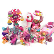 Huge Lot My Little Pony Gumball House, Ferris Wheel, Convertible, Over 20 Ponies