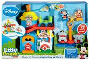 New Fisher-price Magical Day At Disney Playset By Little People