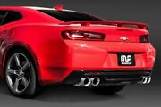 Magnaflow Quad Tipped 3 Race Axleback Exhaust For 2016-2021 Chevrolet Camaro Ss
