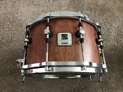 Sonor Designer 8x14 Maple Light Shell Snare Drum Very Rare Hard To Find