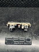 99 00 01 02 03 Ford Super Duty Heater Ac Control Switch Panel F250sd F350sd Oem