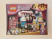 Lego 41004 Friends Rehearsal Stage. 198 Pieces, New In Box. Retired