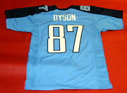Kevin Dyson Custom Tennessee Titans Jersey