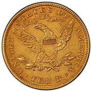 1907 10 Gold Liberty Graded Pcgs Au 55 Cannot Get Much Nicer For This Rare Coin