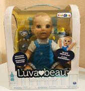 Luvabeau Blonde Baby Boy Doll Luvabella 100 Authentic - Brand New