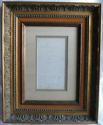 Collectible French Document Dated 1846