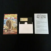 Monster Smash 1983 Commodore 64 C64 Computer Game Disc W/ Manual Instructions
