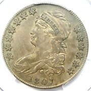 1807 Capped Bust Half Dollar 50c Coin - Certified Pcgs Xf Details Ef
