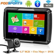 4.3android Gps Truck Navi Motorcycle Car Navigation Lifetime Free Maps Dvr Cam