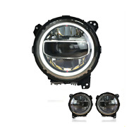 For Jeep Wrangler Led Headlights Led Drl 2019 Replace Oem Halogen Sequential
