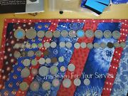 53 Old Coins. Us Canadian French And Others.