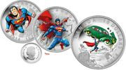 2014 Iconic Superman Comic Covers Silver Coin Set