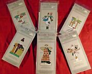 Lot 6 Wood And Fabric Kits Craft Projects_christmas Winter Folky Fun And Easy Kids
