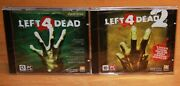 Lot Of Left 4 Dead 1 And 2 Pc + Free Bonus Russian Ed New And Sealed Read Below