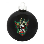 Metallica Scary Reindeer Official Christmas 2020 Ornament Ball Sold Out Promo