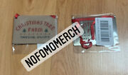 Taylor Swift Christmas Tree Farm Holiday Metal Ornament Rare Sold Out Limited