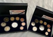 Spain 2002 2003 Proof Euro Coin Set