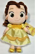 Disney Belle Toddler Plush Doll, 12 Big Eyes, New W/tags Great Condition
